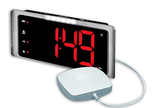 Audioline 907792 amplicomms TCL 410 radiografische wekker met luide signaaltoon zilver