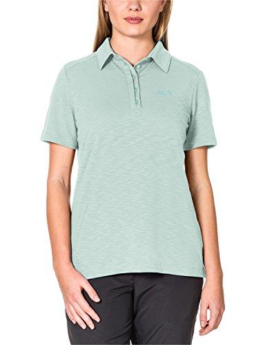 Jack Wolfskin Damen Shirt Travel Polo 2 W, Fresh Breeze, XS