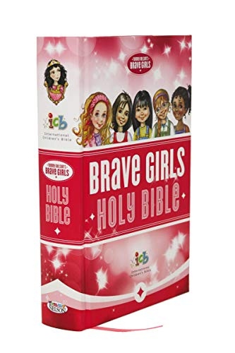 Compare Textbook Prices for ICB, Tommy Nelson's Brave Girls Devotional Bible, Hardcover, Pink: International Children's Bible Illustrated Edition ISBN 9780529111029 by Thomas Nelson