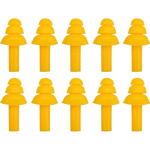 EAR PLUGS SILICONE 22dB 5 PAIRS
