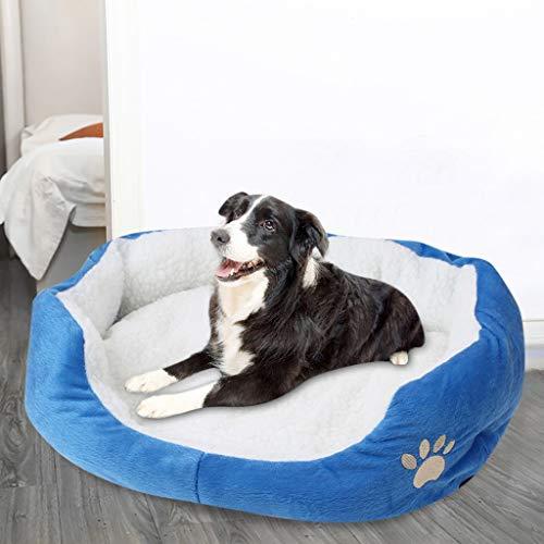 Frashing Hundebett Hundekörbchen Hundesofa Hundekissen Fleece Hundekorb Waschbar Hundebox Hundehütte Haustierbett, Weich und bequem Bett Pet, 50cm x 40 cm