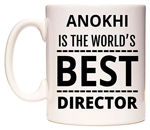 ANOKHI Is The World's BEST Director Tazza di WeDoMugs