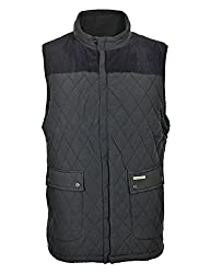 Studded Back Vent & Inside Pocket Corduroy Sholders Fully Fleece lined for extra warmth Diamond Quilted 2 Front Pouch Pockets with stud closure
