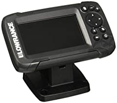 EASY TO USE: The Lowrance HOOK2 4x Fish Finder features auto-tuning sonar and phone-like menus giving you more time to spend fishing and less time dealing with settings. WIDER SONAR COVERAGE: The HOOK2 4x offers a wide-angle sonar cone giving you dou...