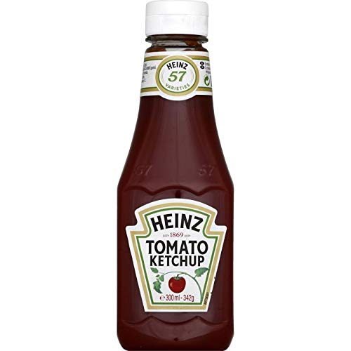 HEINZ - Tomato Ketchup Souple 342G - Lot De 4