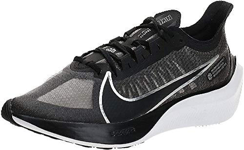 Nike Wmns Zoom Gravity, Zapatillas de Entrenamiento Mujer, Negro (Black/Metallic Silver/Wolf Grey/White 002), 37.5 EU