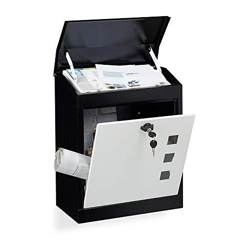 Liuxiaomiao brievenbus buitenmuur brievenbus Large Home Mailbox met sluiting voor meervoudige bezorging van brieven
