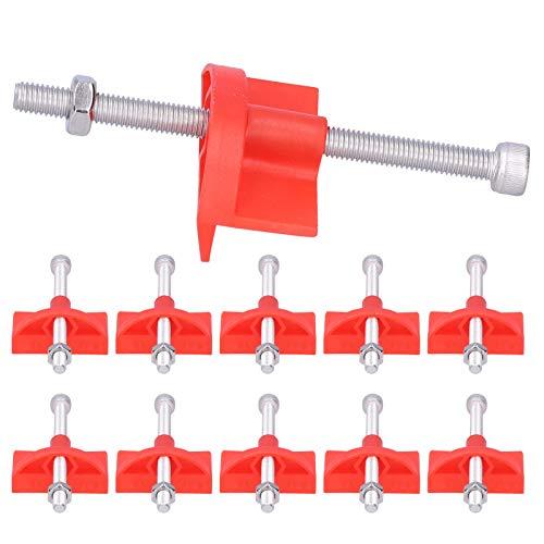 Clips de nivelación de baldosas, ajustador de altura de baldosas de alta resistencia para línea de esquina superior para ladrillo de pared ascendente
