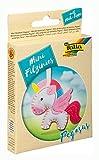 Folia 52910 - Juego de Costura de Fieltro para niños (tamaño pequeño, 15 Piezas), diseño de Pegaso, Multicolor