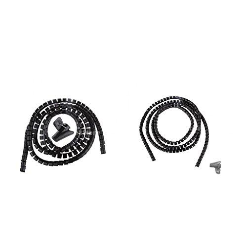 Gazechimp 1.5m PE Dia 10mm + 15mm Tubo Flexible En Espiral Cable...