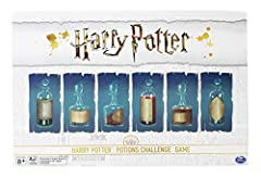 Complete Professor Snape's assignment by collecting ingredients for one Once you have all ingredients, try and get to one of the start spaces The first to get back to the start wins—but beware of Filch who will try and stop you For 2-4 players, ages ...
