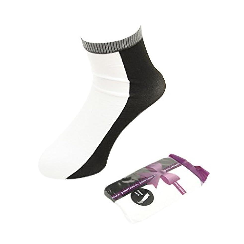 チャンバー必要発明する(パメラマン) PamelaMann Ankle Socks[5334400] ワンサイズ 90 Black/White