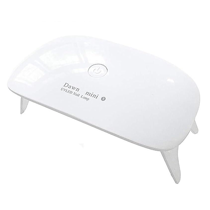 レザーお気に入り生きるLEDネイルドライヤー UVライト (ホワイト)