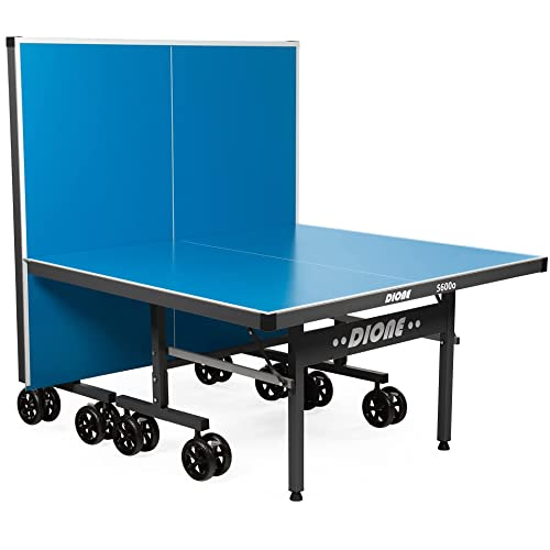 Dione Tennis de Table S600o - 6mm top - Outdoor - Table de Ping Pong 274x152cm - Portable- 10 Minuten Assemblée