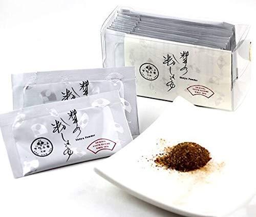 京都限定 下鴨茶寮 料亭の粉しょうゆ 2g×12個