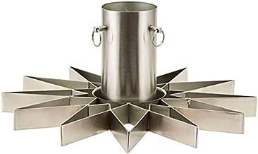 House Doctor–Christmas Tree Stand–Star–para Árbol de Navidad–Metal–silverfinish–W: 4cm x h: 20cm