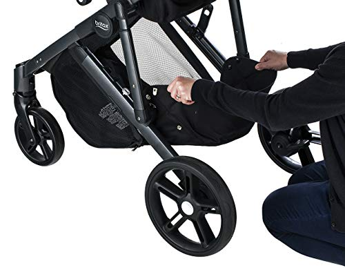Britax B-Ready G3 Stroller, Pistachio Britax Versatile design, no flat rubber tires, and double seating with the same mobility as a single stroller Quick fold with 1 or 2 seats attached; 12 seating options when paired with the B Ready Bassinet, Britax Infant Car Seats, or B Ready Second Seat (all sold separately) Travel System ready: compatible with all Britax and BOB infant car seats 7