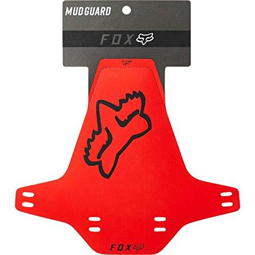 Fox Mud Guard - Guardabarros para bicicleta, color rojo