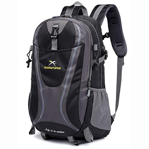 DWGYQ USB Chargement Voyage Sac d'alpinisme en Plein air, Grande capacité de Sport Sac à Dos de Camping des Fournitures appropriées pour Les Hommes et Les Femmes,L5