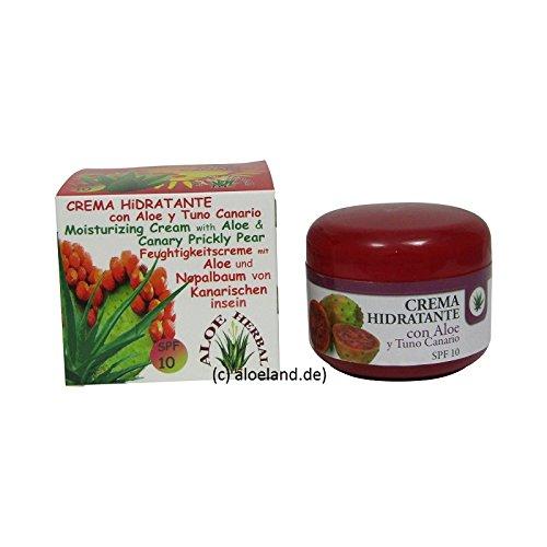 AloeHerbal 1117 Crema Aloe Vera y Tuno, 100 ml - Creme mit Aloe Vera und Nopalbaumextract von Fuerteventura