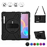BRAECN Galaxy Tab S6 Case,[Support S Pen Wireless Charging]...