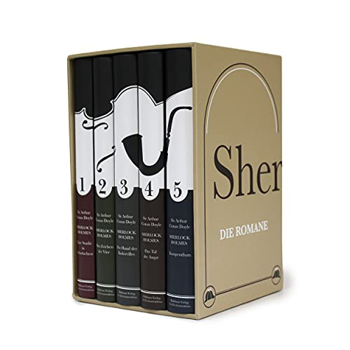 Sherlock Holmes - Die Romane.: Leipziger Ausgabe in fünf Bänden (Haffmans bei Zweitausendeins)