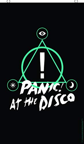 Panic! at The Disco Triangle Symbol Poster Flag 3' x 5' Maryland