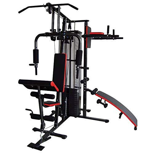 SPORTZ Nueva máquina de prensa de pecho multigimnasio, para levantamiento de pesas, gimnasio en casa, saco de boxeo con cable para entrenamiento