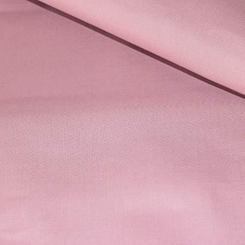 Pingianer Tela de algodón 100 % monocolor para niños, por metros, artesanía, tela de costura (azul petróleo, 200 x 160 cm)