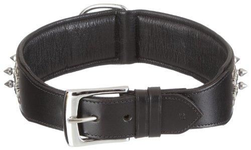 Nobby Leren halsband Delgado, 65 cm/ 50 mm, Zwart