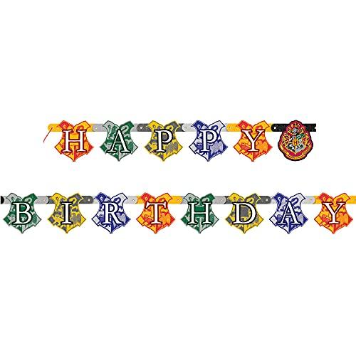 Unique Party - Cartel de Cumpleaños - 1,82 m - Diseño de Harry Potter (59080)
