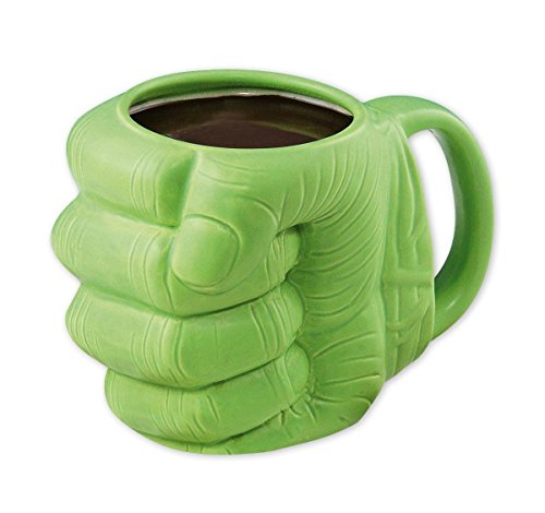 Paladone The Incredible Hulk Tasse Hulk's Hand/Kaffeetasse aus Dolomit