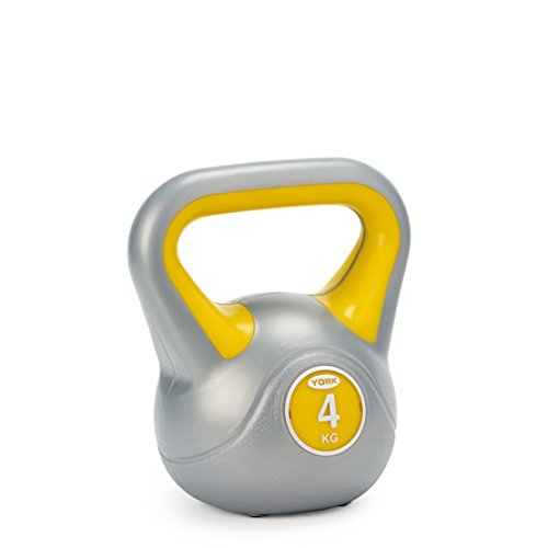 York Fitness - Pesa Rusa (Vinilo) Yellow 4kg