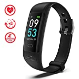 Number-one Fitness Tracker S5 Activity Tracker Watch with Heart Rate Sleep Monitor, IP68 Waterproof Smart Bracelet with Step Counter Calorie Counter and Pedometer Watch for Women Men and Gift