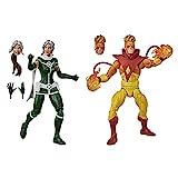 Marvel- Pack Pyro y Rogue (Hasbro E92935L0)