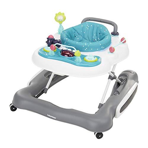 Babymoov Trotteur Pousseur Bébé 5 en 1 - Réglable en Hauteur - Pliable - Dès 6 mois