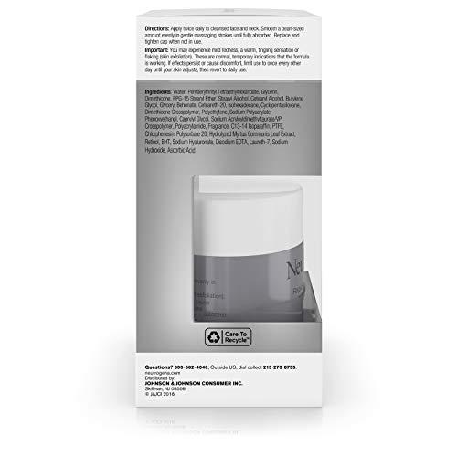 414n6rJR+fL - Neutrogena Rapid Wrinkle Repair Retinol Regenerating Anti-Aging Face Cream & Hyaluronic Acid; Anti-Wrinkle Retinol Moisturizer & Neck Cream, with Hyaluronic Acid & Retinol, 1.7 oz