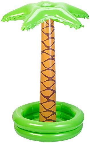 Playtastic Wasserspielzeug Pool: Aufblasbare Palme mit integriertem Wassersprinkler für Kinder (Wasserspielzeug Garten)