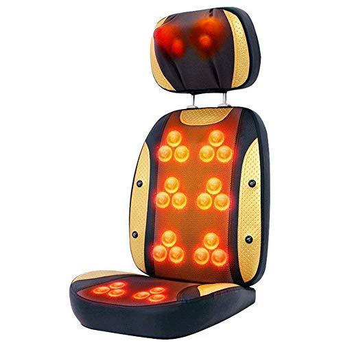 E-KIA MassagegeräT Elektrisch Massagematte,Luxus-GanzköRpe Rmassage Stuhl, Home-Multifunktions-RüCkenmassagegeräT