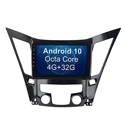 JIBO para 2011-2015 Hyundai Sonata I40 I45 I50 Android 10 Navegacion GPS 10,2 Pulgadas Estéreo de Automóvil Cabeza Unidad Radio Apoyo SWC DSP Bluetooth, IPS Tocar Pantalla Multimedia Jugador