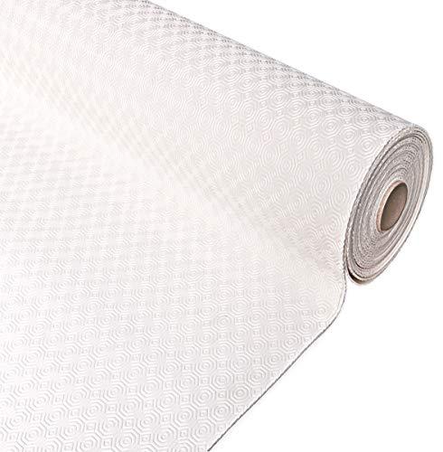 Emmevi protector Mesa muletón Blanco Bajo mantel Suave antideslizante resistente a Las manchas antigolpes varias medidas% hecho en Italia