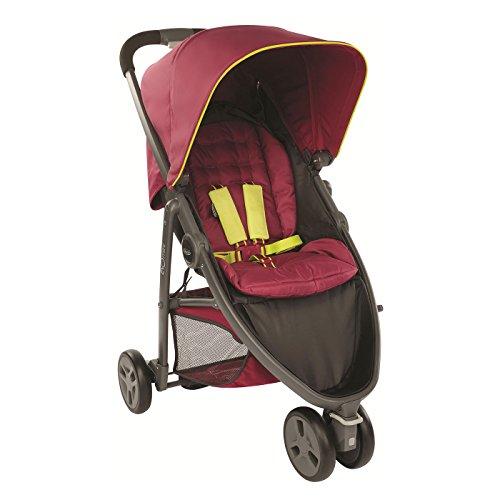 Graco Evo Mini Lightweight Stroller/Pushchair, Berry