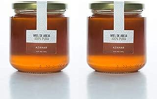 Miel de Abeja, Floración Azahar Set de dos piezas (280 g. c/u)