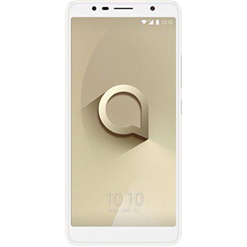 Alcatel 3C 5026D 6.0' 3G Dual Sim Octa-Core 16Gb + 1GB RAM 13Mp + 8Mp Dual Led Factory Unlocked Smartphone (Gold)
