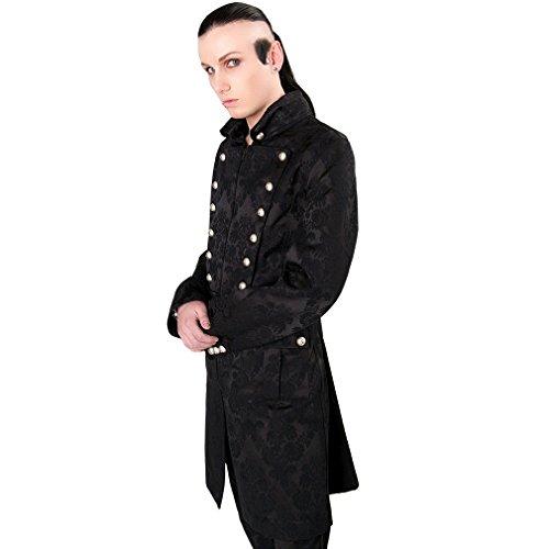 Aderlass Herren Mantel - Admiral Coat Brocade M