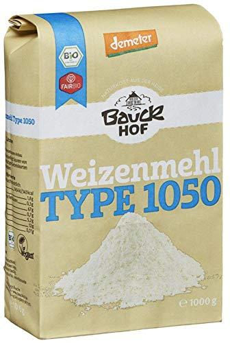 Bauckhof Bio Bauck Weizenmehl Type 1050 (6 x 1000 gr)
