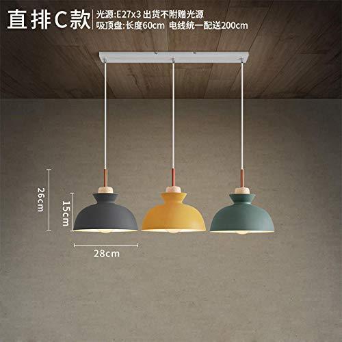 Lampen Pendelleuchte Deckenleuchte Hängelampe Deckenbeleuchtung Nordic Einfache Moderne Schlafzimmer Nacht Persönlichkeit Bar Eisen Reis Tasse Pendelleuchte RestaurantHängelampe @ Siehe Grafik