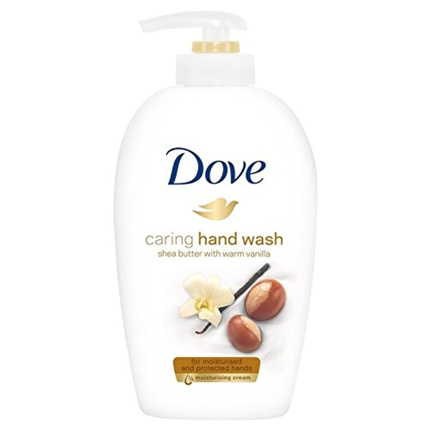 Dove Purely Pampering Shea Butter Beauty Cream Wash 250ml - 鳩純粋な贅沢シアバターの美容クリームウォッシュ250ミリリットル [並行輸入品]