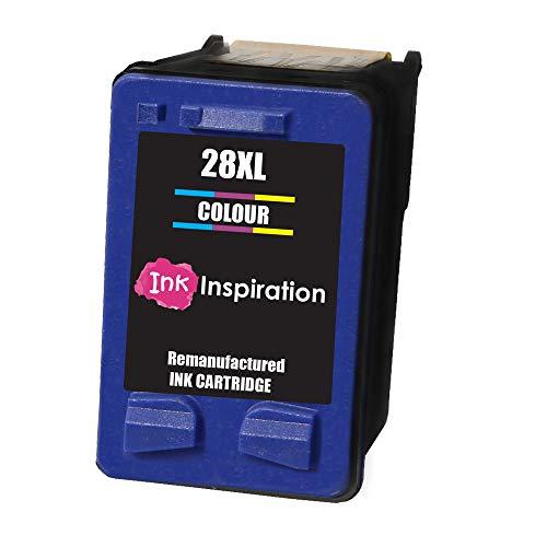 INK INSPIRATION® Farbe Premium Druckerpatrone Ersatz für HP 28 Deskjet 3320 3325 3420 3520 3535 3550 3620 3650 5650 5850 Fax 1240 PSC 1110 1205 1210 1215 1315 1317 Officejet 4215