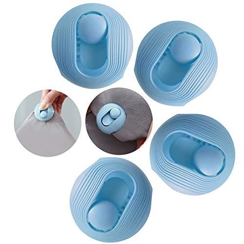 VOVCIG Nadelfreier Bettdecken-Clip, Cartoon-Quilt-Clip-Set, um zu verhindern, dass Kinder das Design versehentlich berühren, keine Notwendigkeit zum Entsperren, Bettdecken-Clips, 4 Stück